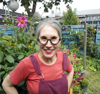 VEKAS SPALTIST: Ellen Hageman frå Gvarv er fast spaltist i Bø blad - lokalavis for Midt-Telemark.
