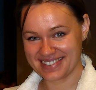 Hanne Porsholt Jensen engasjerer seg sterkt i temaet rundt bruk av I-pad i skulen.