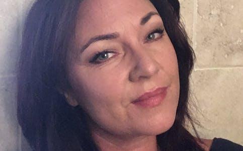 Fast spaltist i Bø blad, Gunn Margit Langkaas.