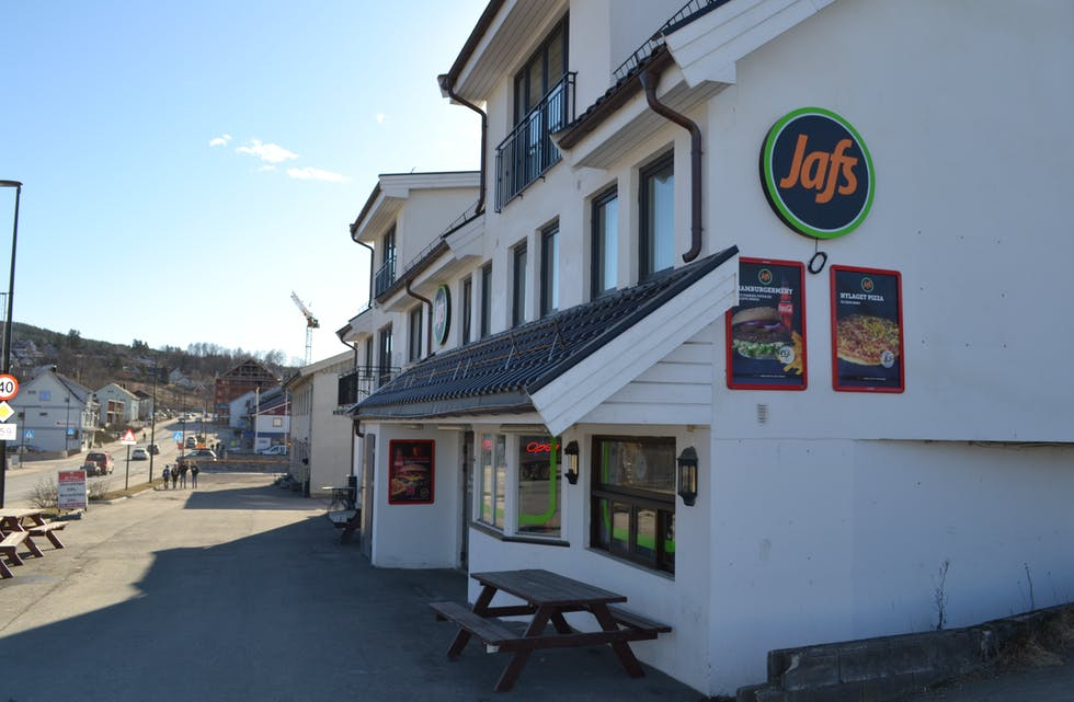 HURTIGMAT: Fast food-restauranten Jafs har etablert seg i Bø.