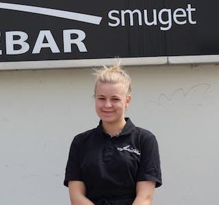 ERFAREN: Helene (19) har jobba på Meierismuget i mange år.