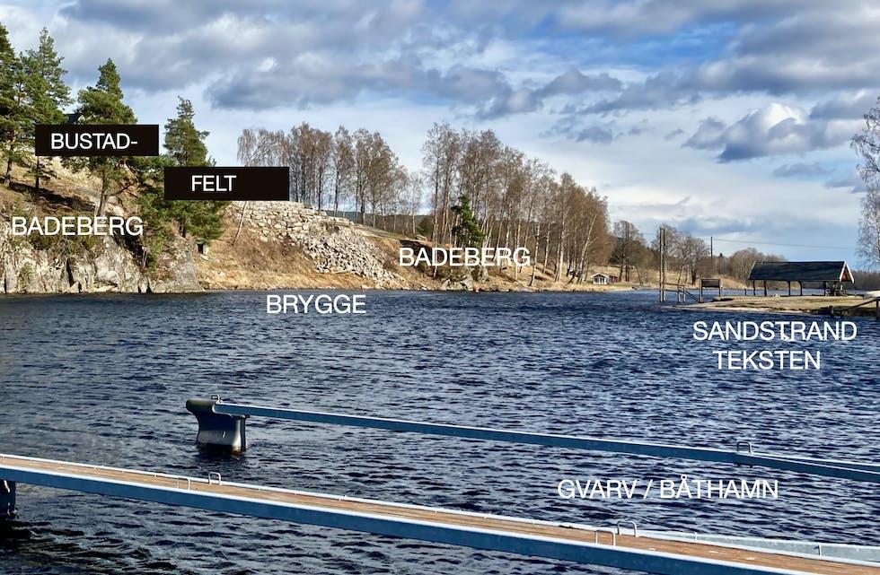 SNUR I BRYGGESAK. MDG har endra meining om utbygging av bryggeanlegg ved båthamna på Gvarv.