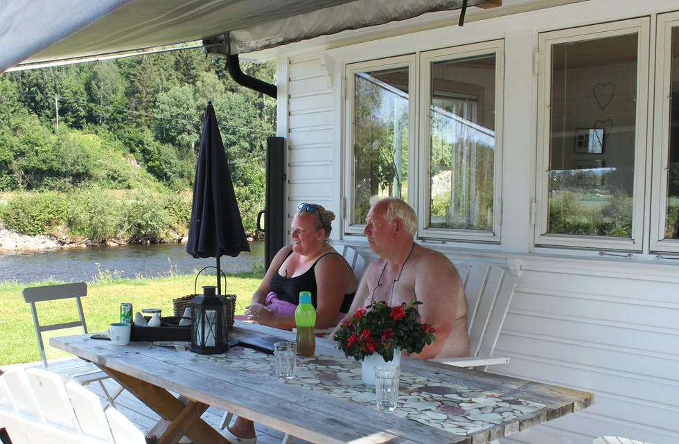 Camparar på Åsgrav camping