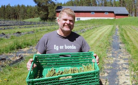 FRAMSNAKKAR´N: Framsnakkar´n denne veka er Trond Haugen. Arkivfoto: Gro B. Røiland