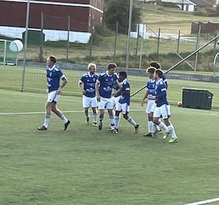 TRE KAMPAR: Førre veke spelte alle dei tre herrelaga til Skarphedin fotball kampar. Her frå ein tidligare kamp, da Skarphedin møtte Notodden 2.