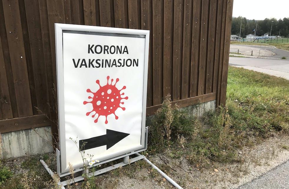 SANDVIN: Også barn og unge i Midt-Telemark skal bli vaksinerte på vaksinestasjonen på Sandvin.