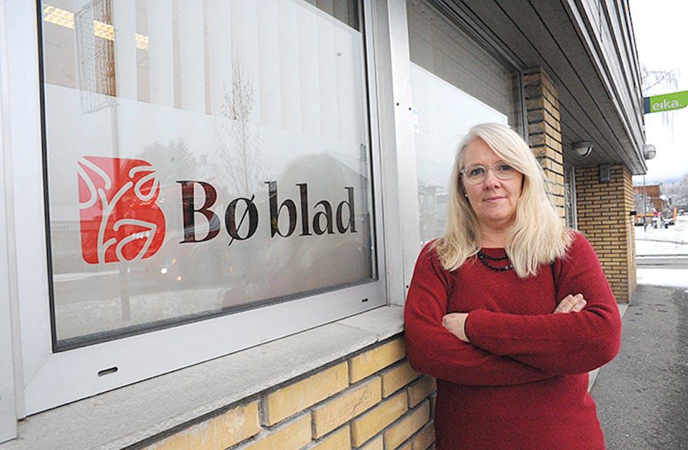VIL VEKSE: – Me skal fortsatt lage god avis og ønskjer å utnytte mulegheitene som ligg i å vekse enda meir digitalt i framtida, seier redaktør Hilde Eika Nesje.