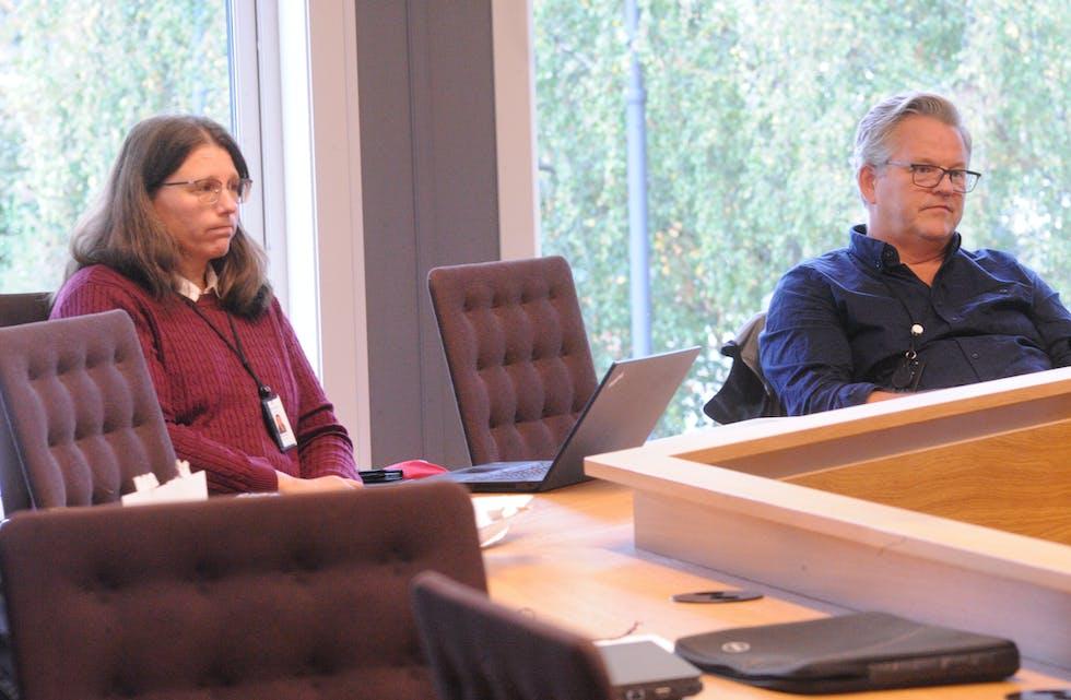 POSITIVT OG NEGATIVT: Kristin Sekse og Jørund Verpe hadde både positivte og negative nyheiter på legefronten i Midt-Telemark.